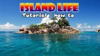 Island Life RPG Tutorial / How To [Danish]