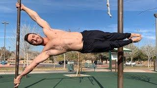 HUMAN FLAG TUTORIAL | How to Master the Human Flag (Side Lever)