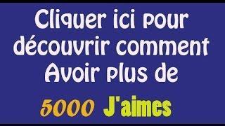 TUTO - Avoir Beaucoup De J'aimes Sur Ses Statuts Et Photos Facebook - Plus De 500 J'aimes En 4mn
