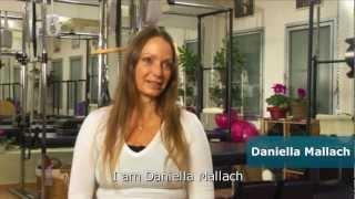 דניאלה מלאך פילאטיס - סרטון תדמית מרכז הכשרה עם כתוביות באנגלית