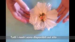 Bomboniere Fai Da Te - Tutorial - Nastro N° 01 - Italian Sugar Art