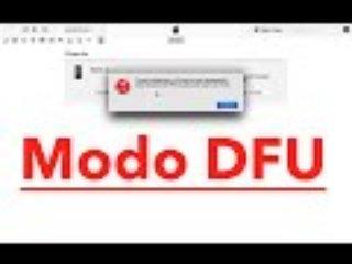 Poner iPhone en DFU [Tutorial]