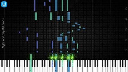 Piano Solo]Alice In Wonderland, Bill Evans-Synthesia Piano Tutorial