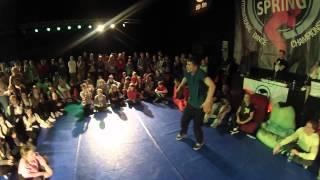 Popping 1x1 Semifinal, Judge Sheva, FINAL | Lithuanian SPRING Cup 2013