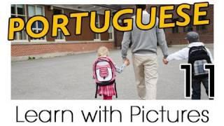 Learn Brazilian Portuguese With Pictures -- In The Classroom