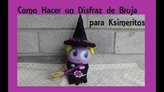 Como hacer un Disfraz para Ksimeritos (Tutorial de Halloween)