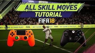 FIFA 18 ALL SKILLS TUTORIAL + SECRET SKILL MOVES & NEW SKILLS - XBOX & PLAYSTATION