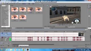 TUTORIAL - Sony Vegas Pro 1O : Spomalenie/Zrýchelenie (Slovak Comment) *HD*