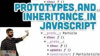 9.20: Look away! Inheritance with Prototype in JavaScript - p5.js Tutorial