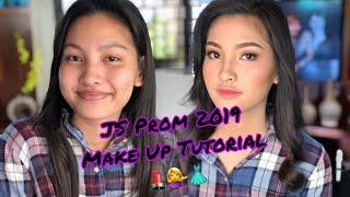 Simple JS Prom 2019 Make Up Tutorial