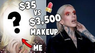 Following a Jeffree Star Tutorial w/ Drug Store Makeup