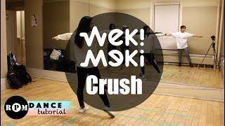 "Weki Meki ""Crush"" Dance Tutorial (Pre-Chorus, Chorus, Breakdown)"