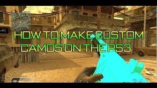 [TUT] How To Make Custom Camos On COD4 For PS3!! (Full Tutorial+Download Links)