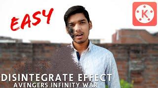 Infinity War Disintegration Tutorial ! Kinemaster || Avengers Infinity War Disintegration Tutorial !