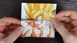 TUTORIAL Goku Transformations 2   Endless card