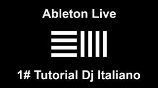 Ableton Live - 1# Dj Tutorial  Italiano - Come Fare Un MixTape/Megamix - Robby High