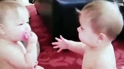 Funny Baby Song Video Twins