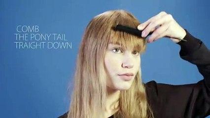 trimming your fringe