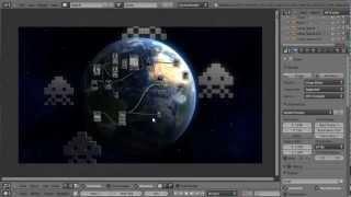Blender 3D Tutoriel Français - Cycles - Earth And Anim Basics - By KOPILOT
