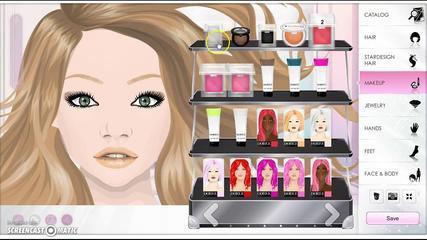 ~Stardoll Makeup Tutorial-Easy Beachy Look