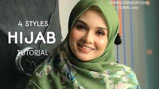 4 STYLES|| QUICK & FAST|| HIJAB SQUARE TUTORIAL|| SIMPLE & ADORABLE!||