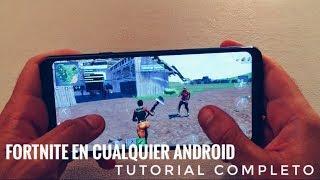 Descargar y Jugar  Fortnite Oficial en Tu Android - Tutorial Completo en Español