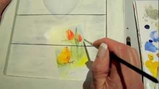 Scrap-painting : La Composition De Pâques