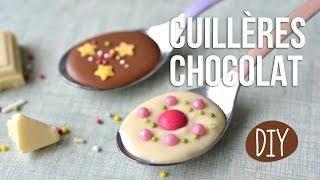 DIY - Faire Des Cuillères Chocolat - Cadeau Pâques