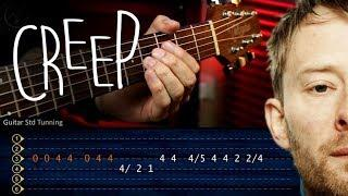 Creep RADIOHEAD Guitar Tutorial TABS | Guitarra Cover Christianvib