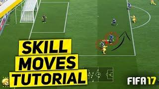 FIFA 17 BEST SKILL TO GLITCH THE DEFENDER TUTORIAL - THE ADVANCED BOLASIE FLICK SKILL MOVE - TRICKS