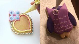 Amazing Cookies Art Decorating Tutorial Ideas - HOW TO MAKE ROYAL ICING COOKIES - Awesome Cookies
