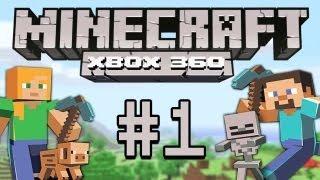 Minecraft - Let's Play Minecraft Xbox 360 #1 [deutsch/german] Minecraft Together Gameplay Xbox 360
