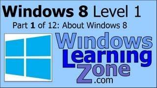 Microsoft Windows 8 Tutorial Part 01 Of 12: About Windows 8