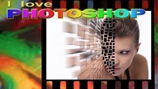 Photoshop Tutorial Italiano - Ritratto Con Effetto Esplosione