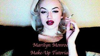 Marilyn Monroe Make-Up Tutorials; Lipstick