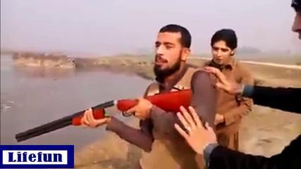 Amazing Punjabi Pathan Firing Moments-funny Videos
