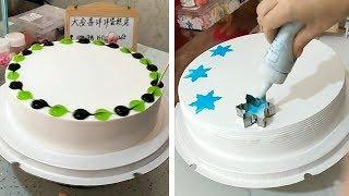 Most Satisfying Birthday Cake Decoration Tutorial