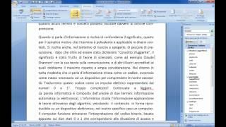 Microsoft Office Word 2007 Tutorial Italiano Quinta E Ultima Parte Windows 7