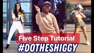 Dance Tutorial!! Do The Shiggy Challenge KiKi Do You Love Me Dance  by Drake!