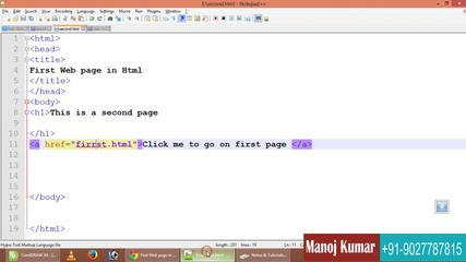 HTML Full Video Tutorial IN HIndi- Urdu For Web Design Part -2 Basic HTML Tag And Structure