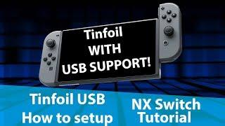 How to use Tinfoil installer with USB Support - Nintendo Switch Homebrew Tutorial