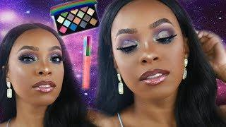 FENTY BEAUTY GALAXY EYESHADOW PALETTE HONEST REVIEW, SWATCHES & TUTORIAL!!