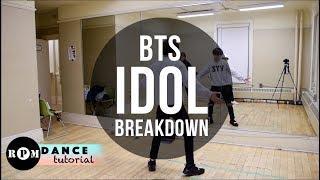 """BTS """"Idol"""" Dance Tutorial (Breakdown)"""