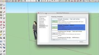 02 Sketchup Nederlands Tutorial Sofa Model Setup