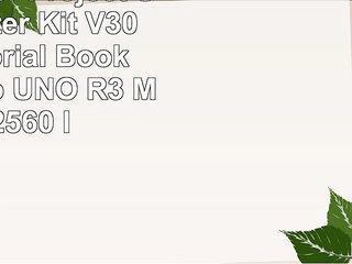 SunFounder Project Super Starter Kit V30 with Tutorial Book for Arduino UNO R3 Mega 2560