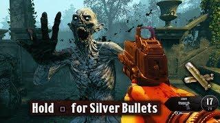 DEAD OF THE NIGHT: SILVER BULLETS GUIDE! (All Locations Tutorial Black Ops 4 Zombies)