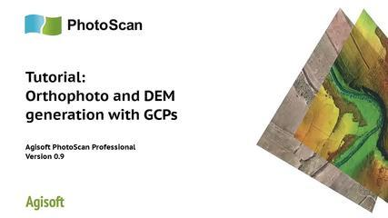 Tutorial On Aerial Data Processing With Agisoft PhotoScan