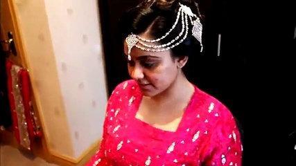 Asian_Pakistani & Indian Bridal Hair Tutorial - Wedding Hairstyle