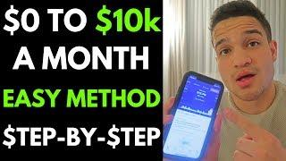 0-$10K A Month in 1 Month | Step by Step Tutorial | Shopify Dropshipping 2019