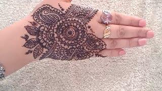 Newest trendy easy simple style henna || mehndi designs for hands tutorial eid special